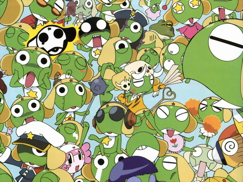 Sgt. Frog (Keroro Gunso) wallpaper entitled Keroro Gunso Wallpaper