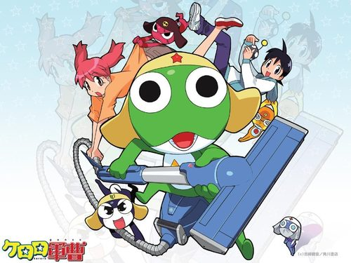 Sgt. Frog (Keroro Gunso) wallpaper with anime titled Keroro Gunso Wallpaper