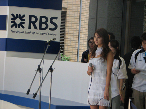 Leah at RSFB event