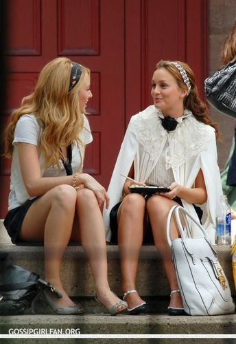 Leighton&Blake On Set