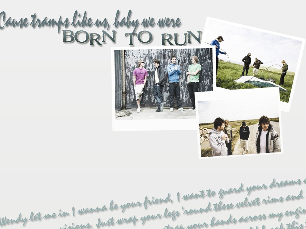 Mcfly - BORN TO RUN - McFly Fan Art (1862182) - Fanpop