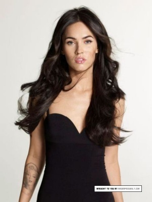 Megan Fox wallpaper probably with a bustier, attractiveness, and a camisole entitled Megan