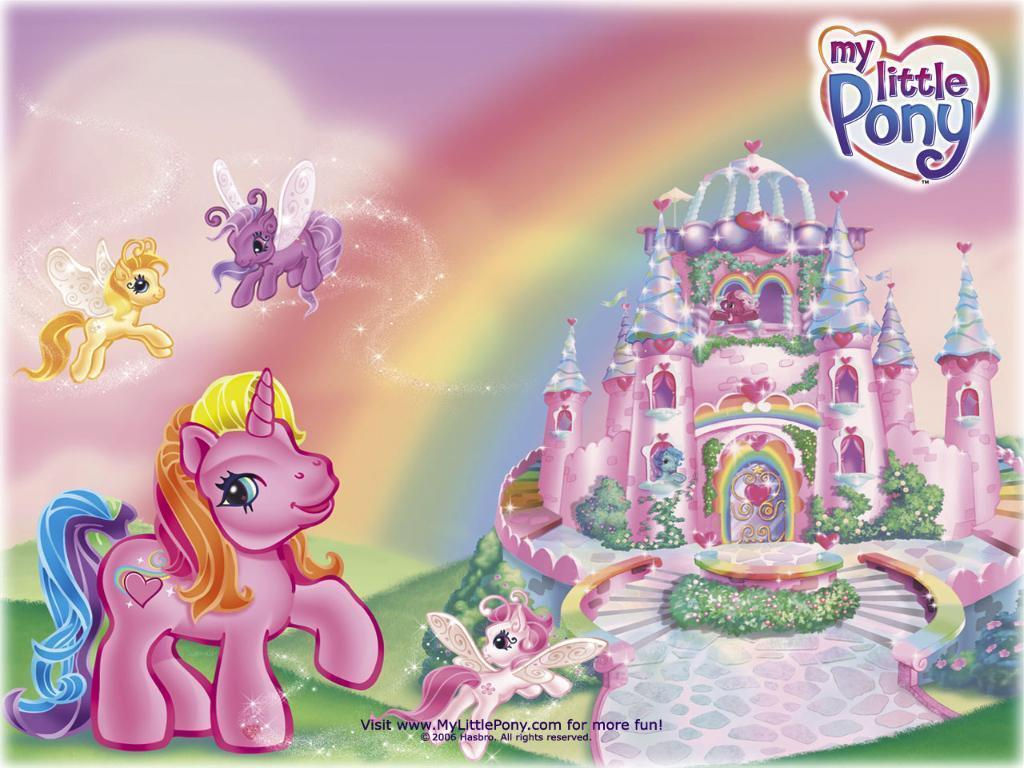 My Little Pony Wallpaper - 80s Toybox 1024x768 800x600
