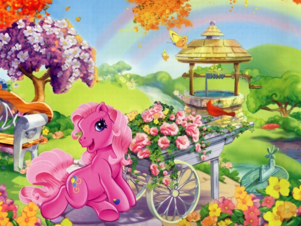 The Little Pony Cartoon Family