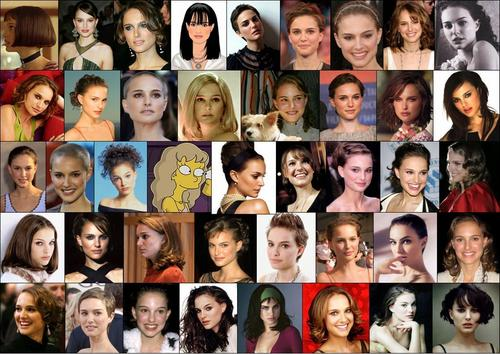 Natalie Portman collage