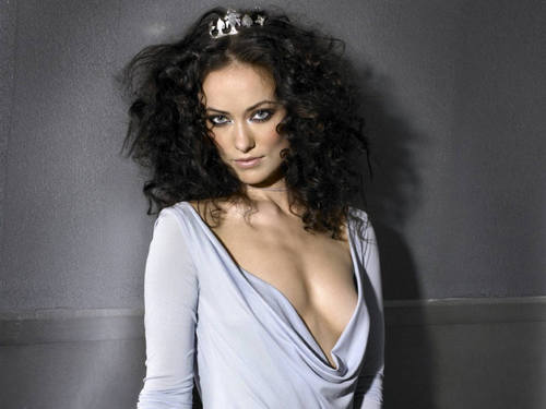 Olivia Wilde wallpaper probably with attractiveness, a chemise, and a portrait called Olivia