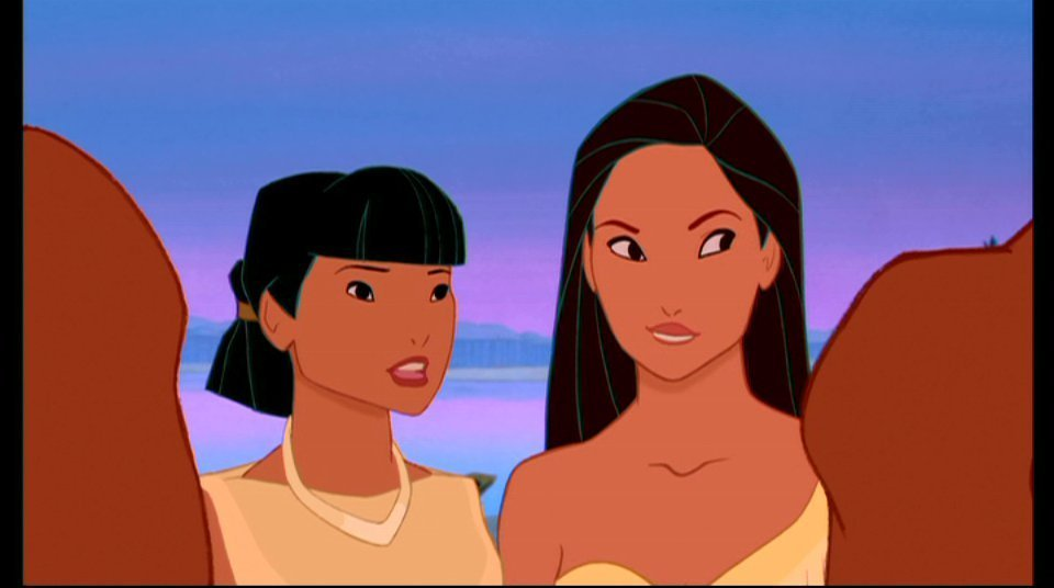 compare and contrast aladdin and pocahontas By providing a systematic, quantitative comparison of the main characters' beauty and the beast 1991 54 31 85 77 87 164 aladdin 1992 63 109 172 50 77 127 pocahontas 1995 117 95 212 105 130 235 mulan 1998 49 12 61 table 1) in contrast, the princes displayed 495 traditionally.