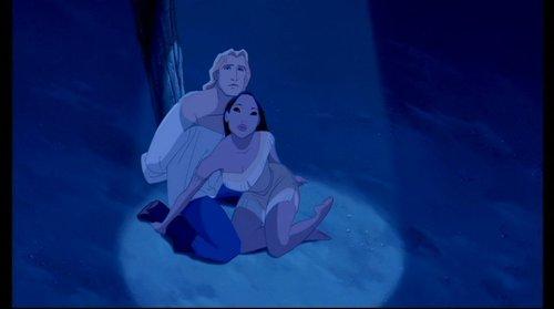 প্রথমশ্রেণীর ডিজনি দেওয়ালপত্র entitled Pocahontas
