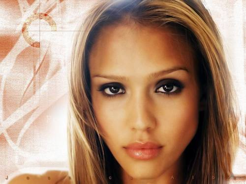 jessica alba wallpaper containing a portrait entitled SEXY