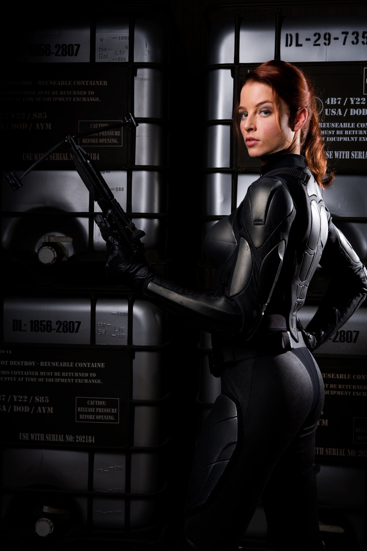 Redhead from gi joe movie