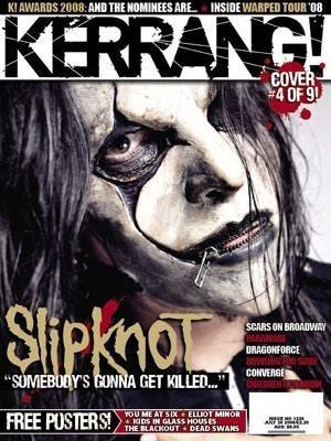 Slipknot - Kerrang Cover