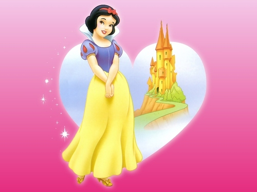 Disney wallpaper entitled Snow White in Pink