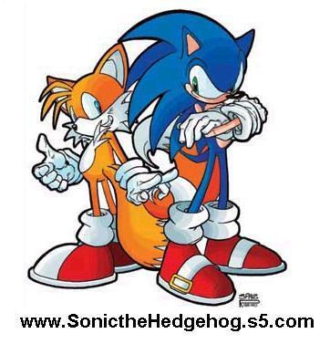 Sonic X wallpaper containing anime called Sonic and Tails