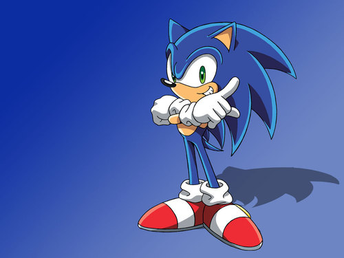 Sonic X karatasi la kupamba ukuta possibly with anime entitled Sonic the Hedgehog