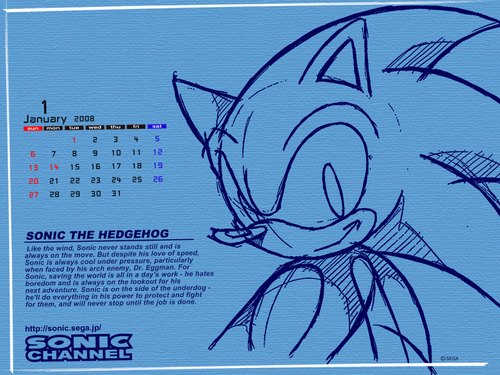 Sonic X wallpaper probably with a sign titled Sonic the Hedgehog