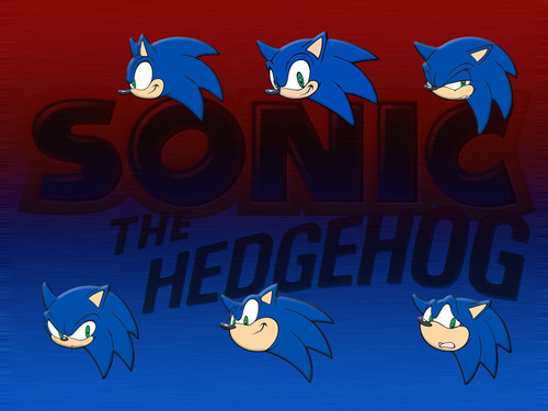 Sonic X wallpaper titled Sonic the Hedgehog