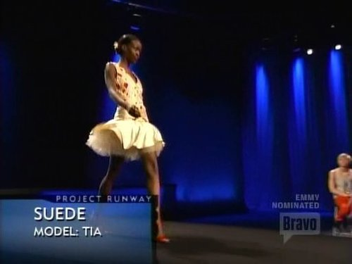 Suede's Outfit - Green Model Challenge