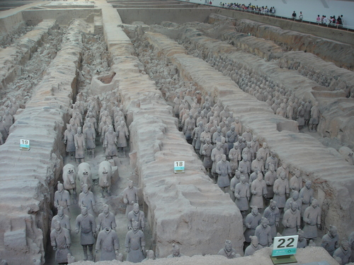 Terracotta Warriors and cavalli