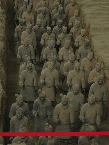 Terracotta Warriors and 馬