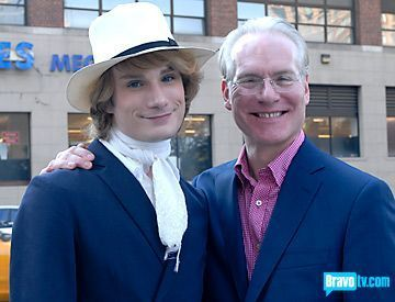 Tim Gunn and Austin Scarlett