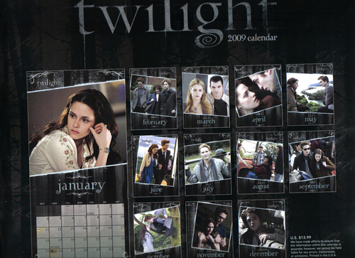 Twilight Calendar Key