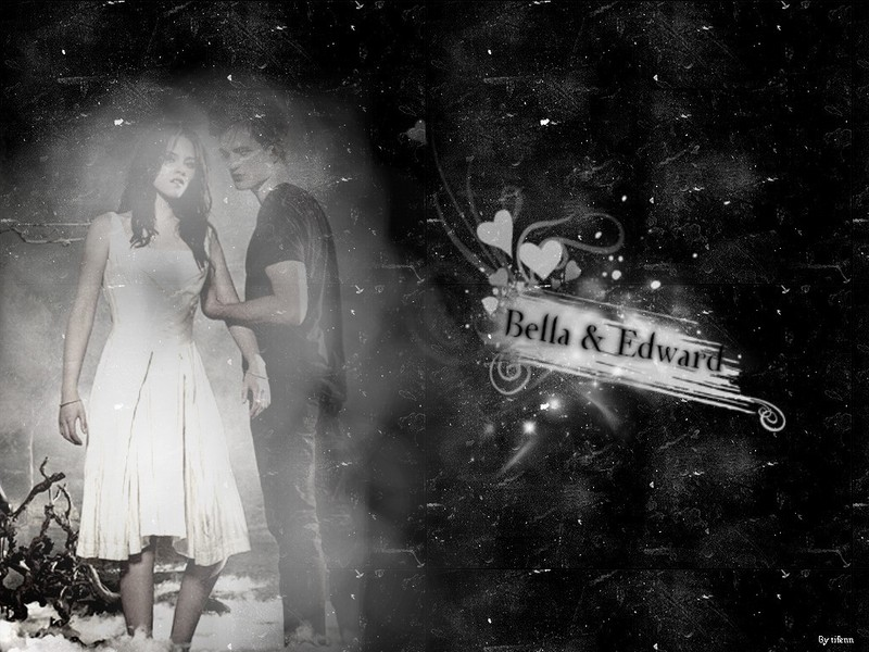 edward and bella wallpapers. edward and ella wallpaper.