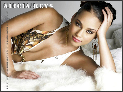 Alicia Keys wallpaper containing a portrait entitled YEAH
