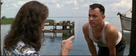 You send me a letter, you idiot - forrest-gump Photo