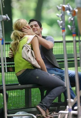 blake&penn on set