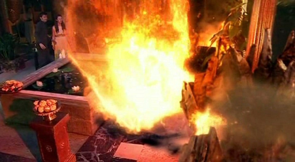 4x02 The Fires of Pompeii
