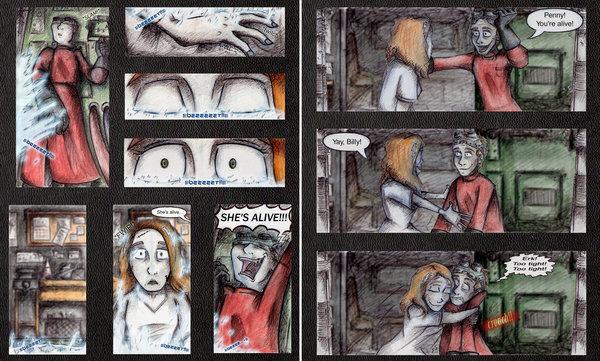 Act IV Comic Strip