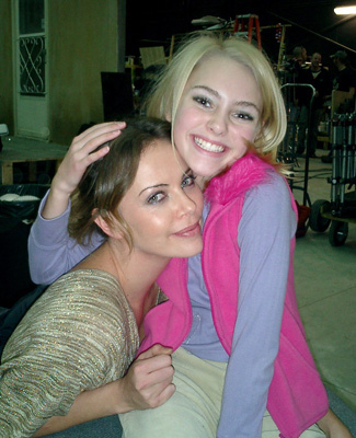 AnnaSophia BTS of Sleepwalking