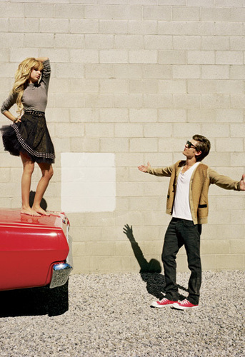 Ashley & Zac Elle Magazine Photoshoot