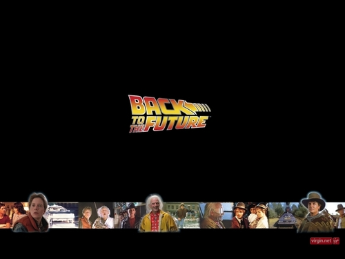 Back to the Future wallpaper with a multiplex entitled Back to the Future