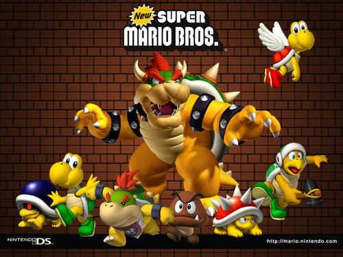 Super Mario Bros. wallpaper called Bad Guys