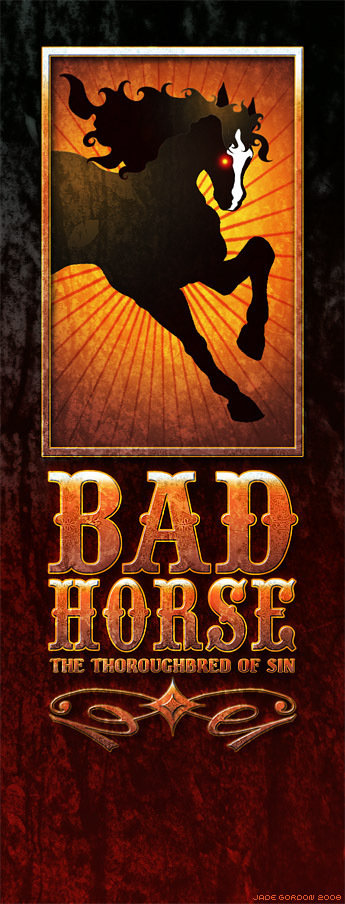 Bad Horse Logo