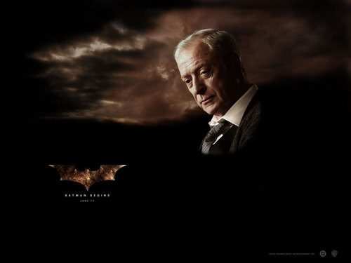 Michael Caine in Batman Begins