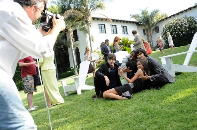 90210 images behind the scenes at 90210 photoshoot wallpaper and