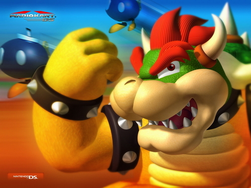 Mario Kart 바탕화면 titled Bowser