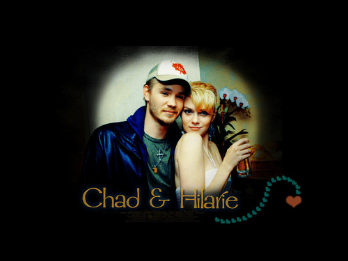 Chad and Hilarie wallpaper entitled CH♥