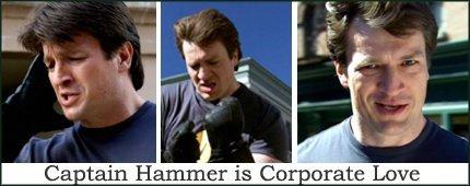 Captain Hammer Banner