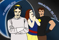 Captain Hammer, Dr. Horrible, Penny - dr-horribles-sing-a-long-blog fan art