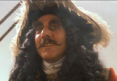 Captain Hook-Dustin Hoffman