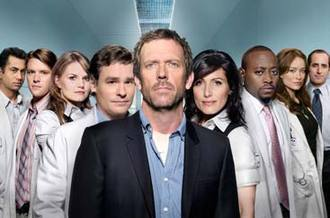 House M.D. wallpaper probably containing a business suit titled Cast