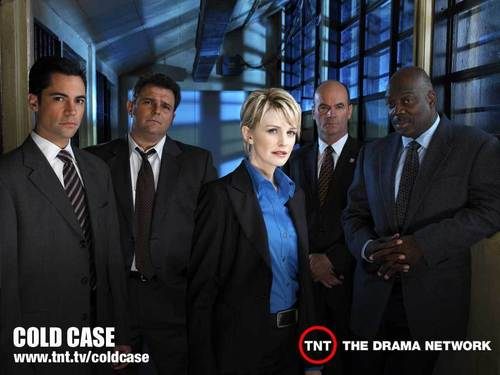 Cold Case wallpaper with a business suit, a suit, and a three piece suit called Cold Case Cast