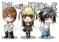 Cute Chibi Death Note - death-note fan art