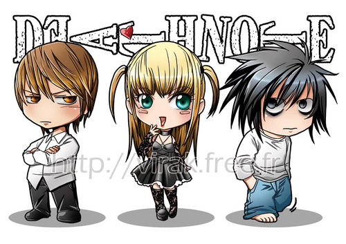 Cute Chibi Death Note