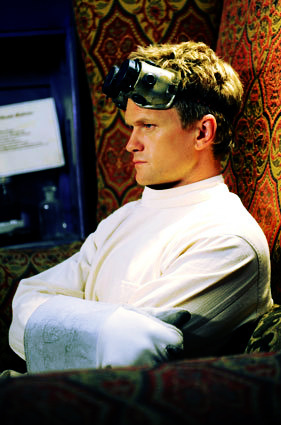 Dr. Horrible's Sing-A-Long Blog wallpaper entitled Dr. Horrible Banner