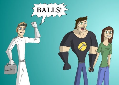 Dr. Horrible's Sing-A-Long Blog پیپر وال with عملی حکمت entitled Dr. Horrible, Captain Hammer, Penny