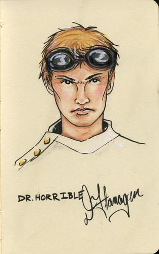 Dr. Horrible's Sing-A-Long Blog wallpaper entitled Dr. Horrible Portrait